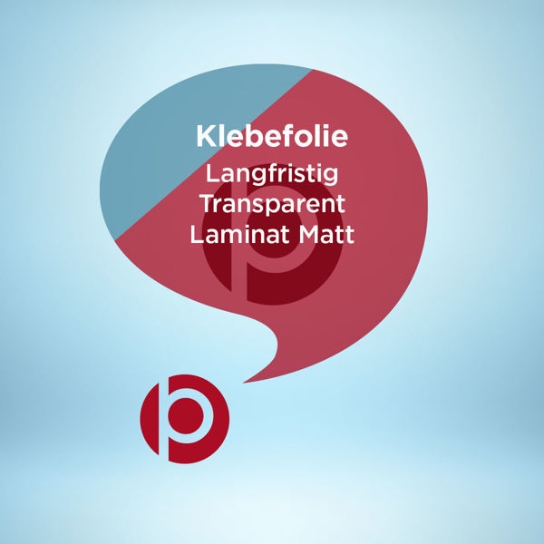 Klebefolie Langfristig Transparent Laminat Matt Freier Konturschnitt
