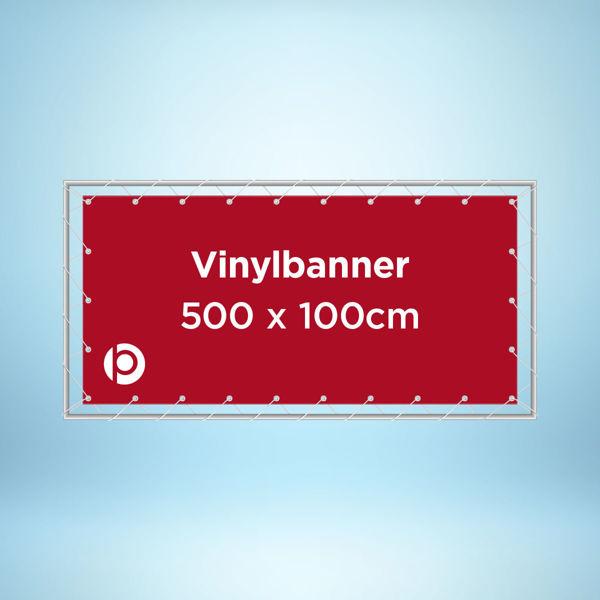 Vinyl Banner 500g 500x100cm